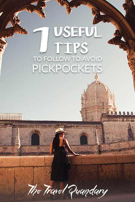 Pin and Save Photo | 7 Handy Hints to Prevent being pick pocketed