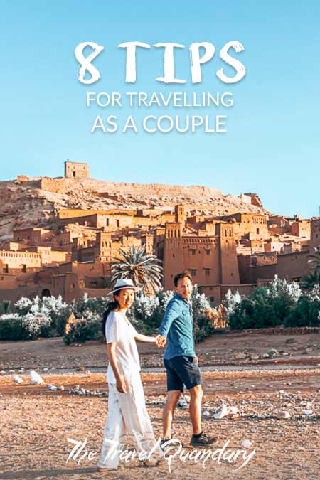 8 Tips For Travelling As A Couple| Pinterest Board