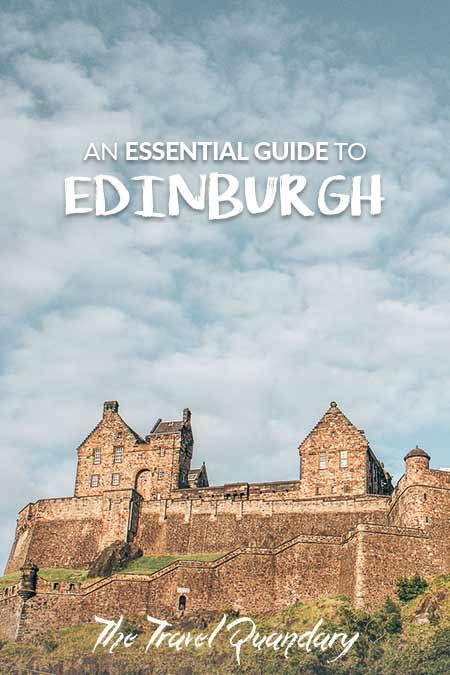 Pin Photo: Edinburgh Travel Guide