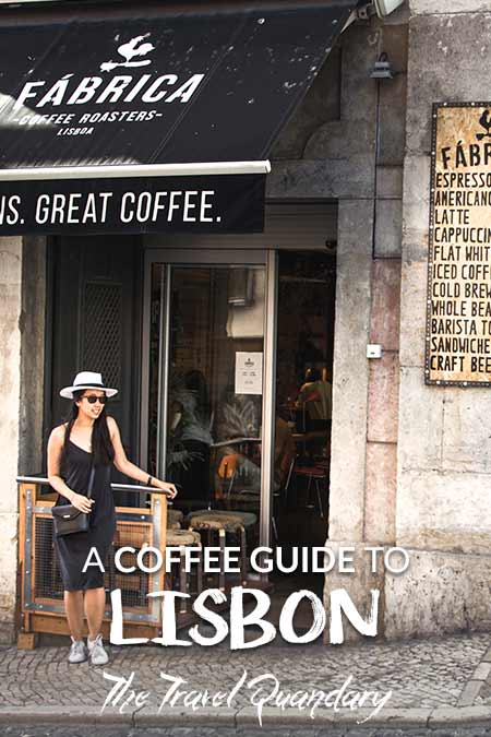 Pin -The 5 Best Coffee Cafes In Lisbon Portugal