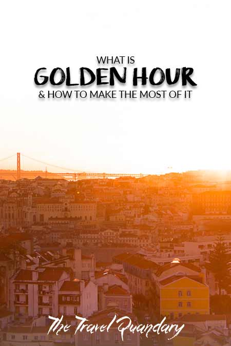 Pin Photo: Tips for Golden Hour photography