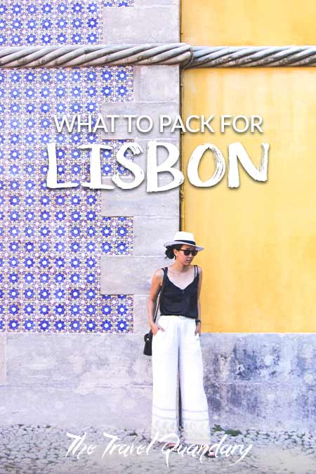 Pin to Pinterest: What ladies should pack for Lisbon, Portugal