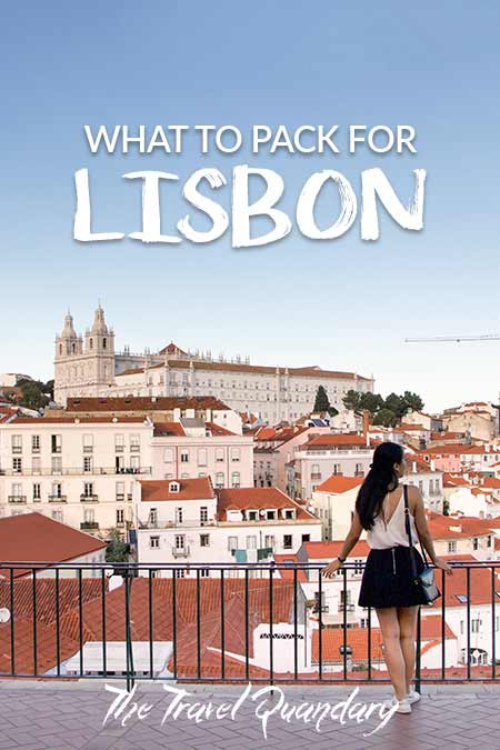 Pin Photo: What To Wear In Lisbon
