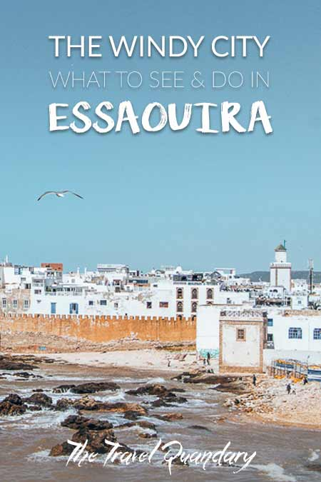 Save to Pinterest | Your Complete Travel Guide To Essaouira, Morocco