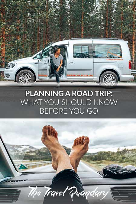 Pin Photo: Tips When planning a road trip