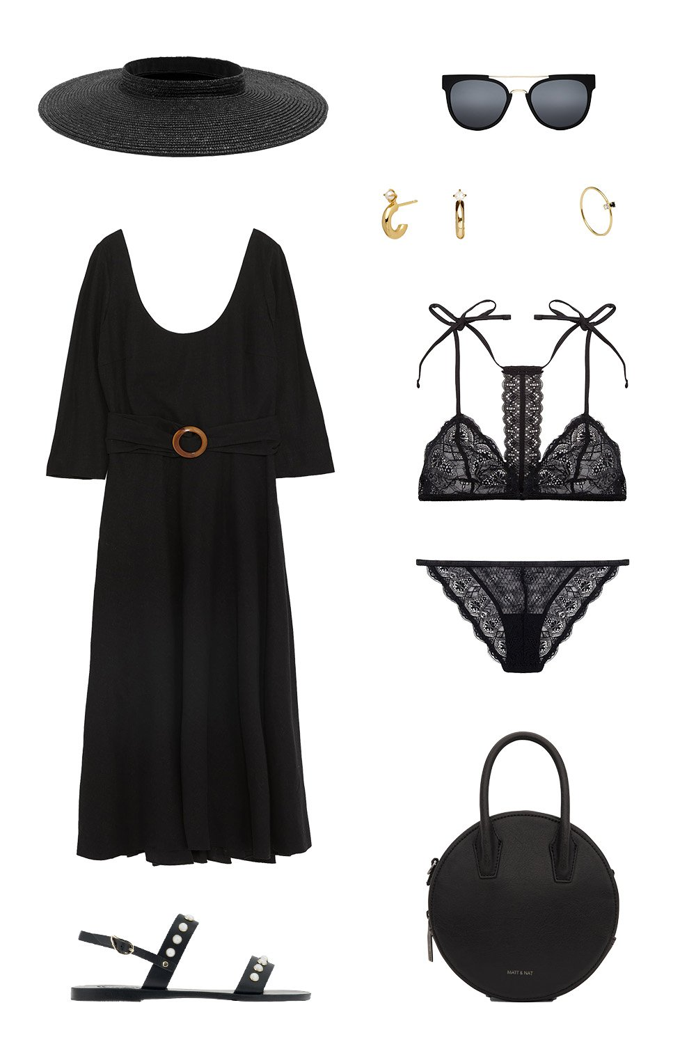How To Wear Black On Your Summer Holiday | how to wear black on your summer holiday 2