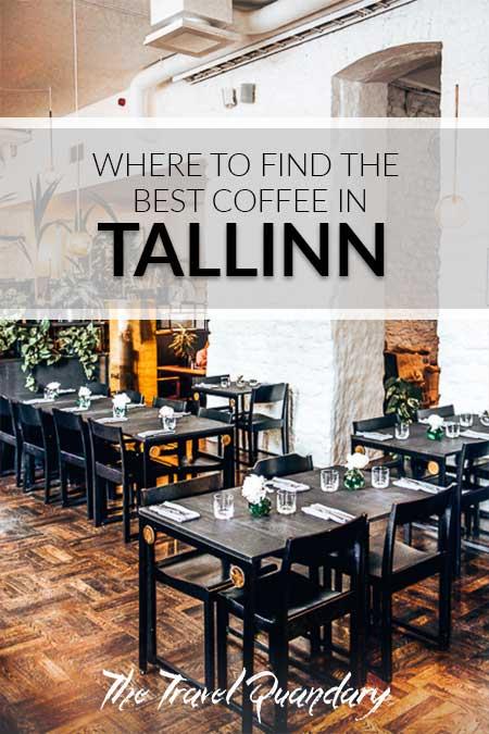 Pin Photo: Sleek interiors at Kokomo Coffee Roasters, Tallinn