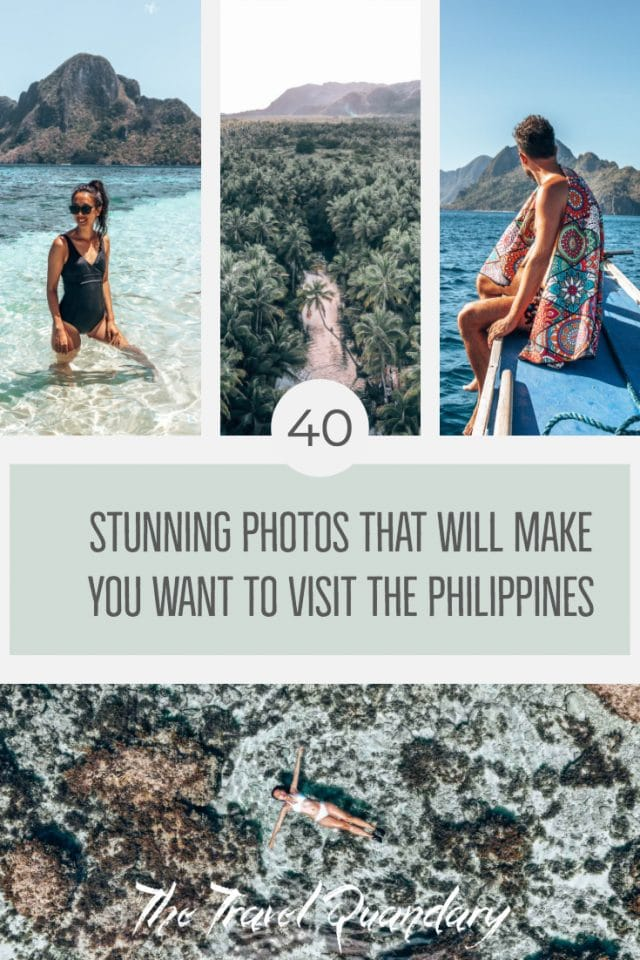 40 Stunning Photos That Will Make You Want To Visit The Philippines Pinterest Board