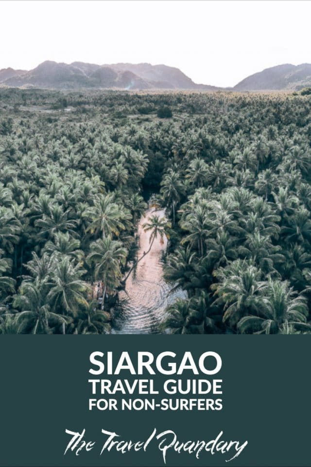 Siargao Travel Guide For Non Surfers | Pinterest Board