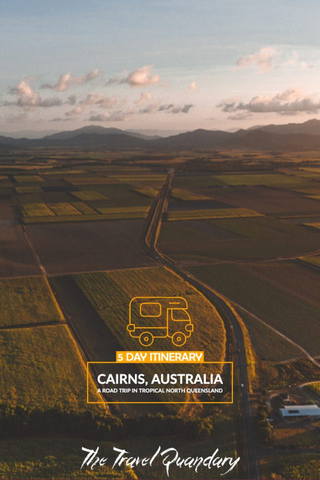 Pin to Pinterest: tropical North Queensland 5-day campervan itinerary