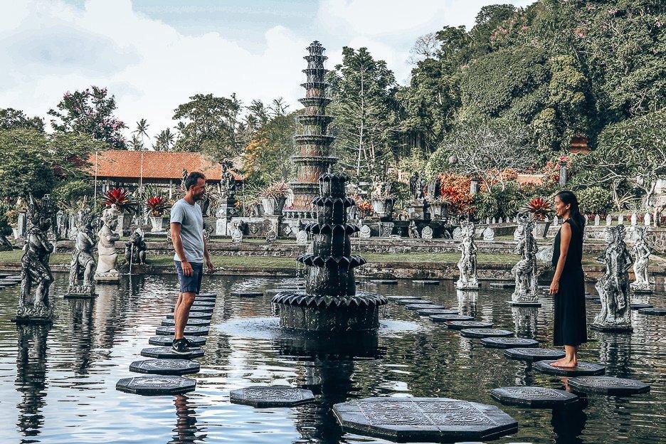 The water garden of Taman Tirtagaggan, Bali Gallery