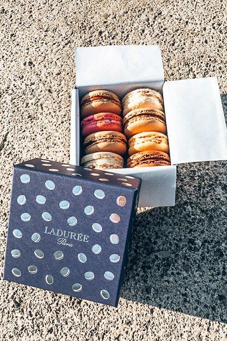 Macarons from La Duree, Patisserie in Paris