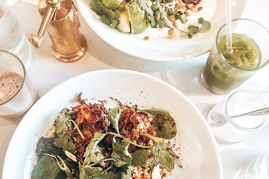 Healthy eating for breakfast at Granger & Co, London