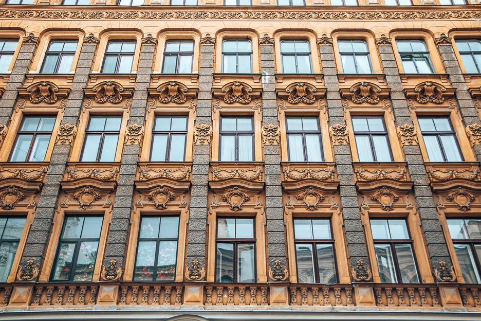 Art nouveau architecture | one day itinerary riga