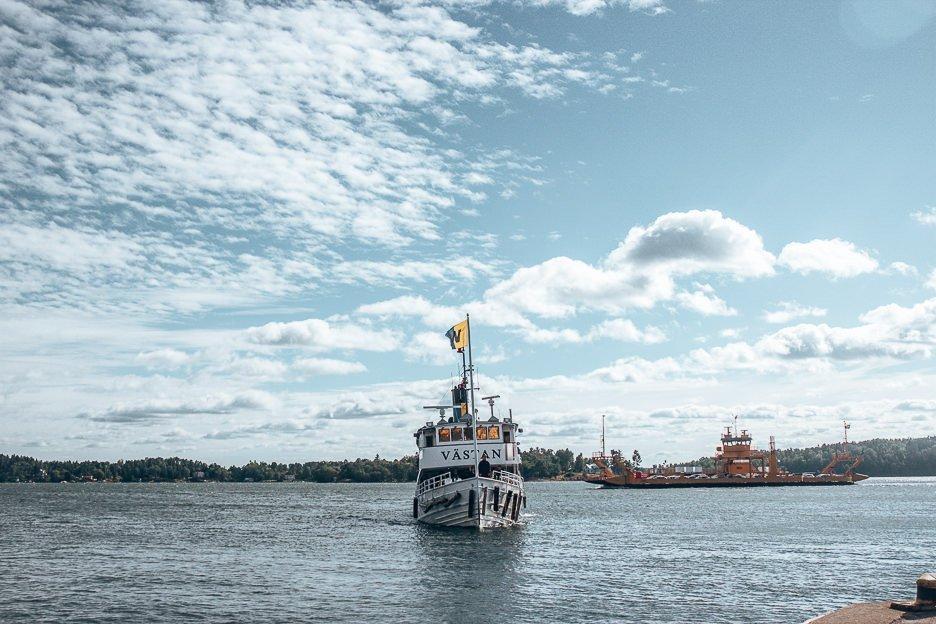 Commuting ferries between the islands - Stockholm, Sweden