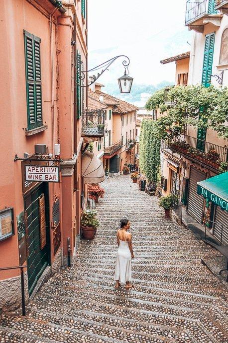 Quiet morning in pretty Bellagio, Como - First Trip