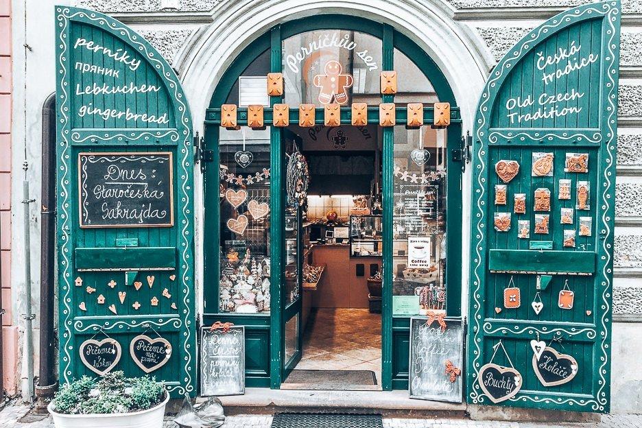 Gingerbread store Perníčkův sen, Prague