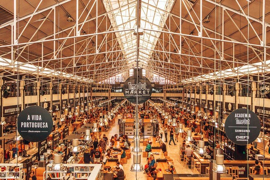 Mercado da Ribeira, Time Out Market, Lisbon