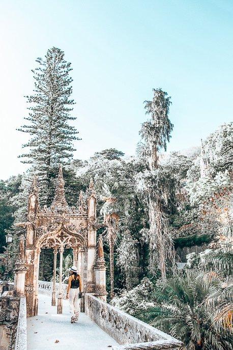 Wandering the grounds of Quinta da Regaleira - Sintra, Lisbon