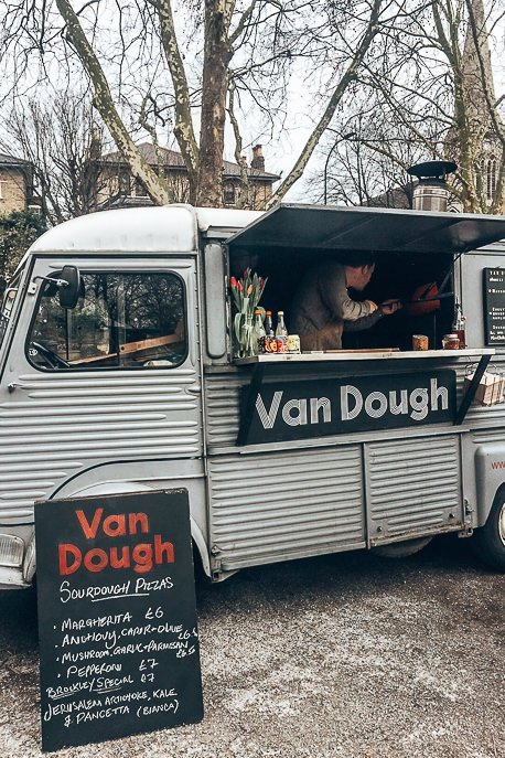 Van Dough Food Truck at Brockley Market, London