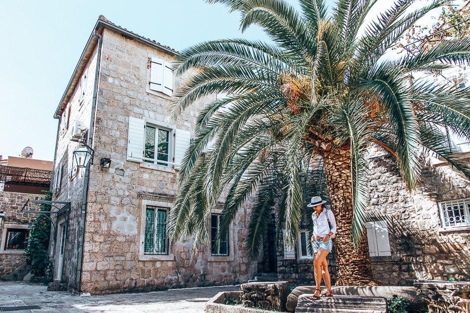 Checking out Budva, Montenegro
