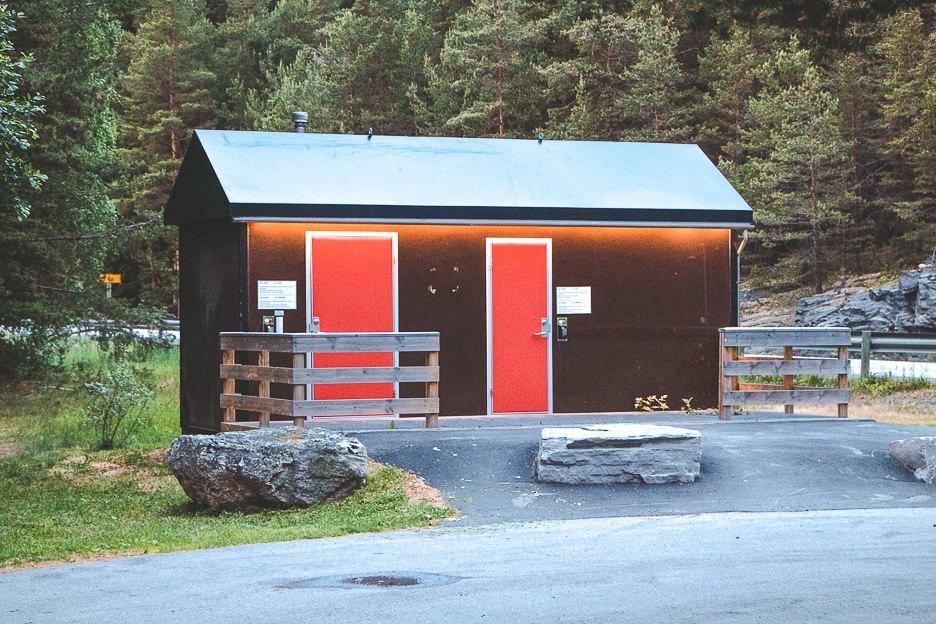 Public toilets in Sweden