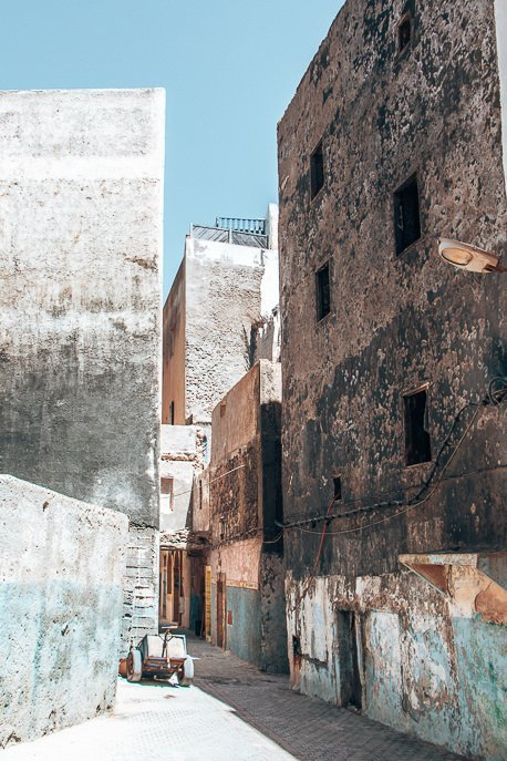 Getting lost in Essaouira's medina