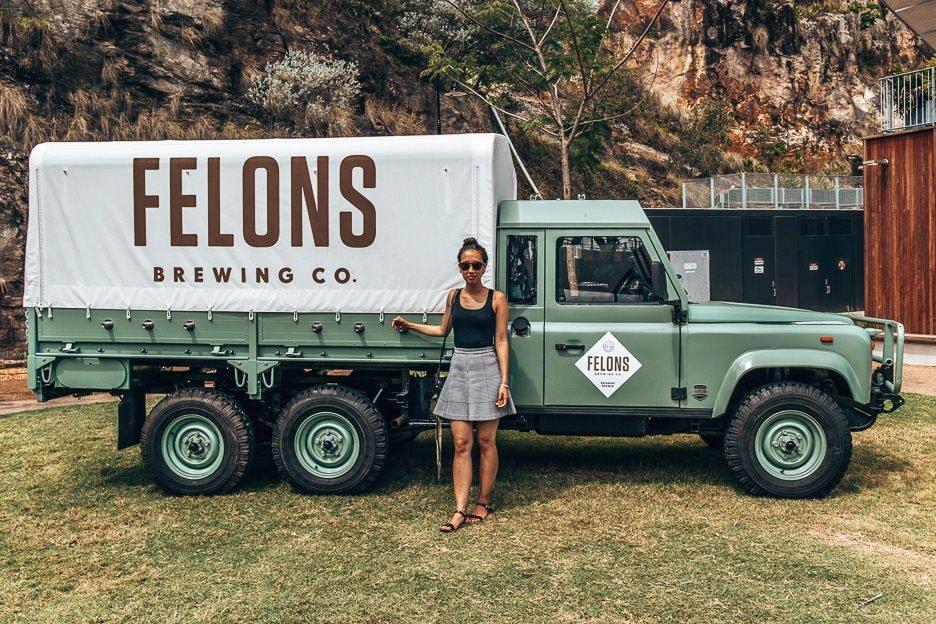 Felon's Breweing Co, Brisbane Australia