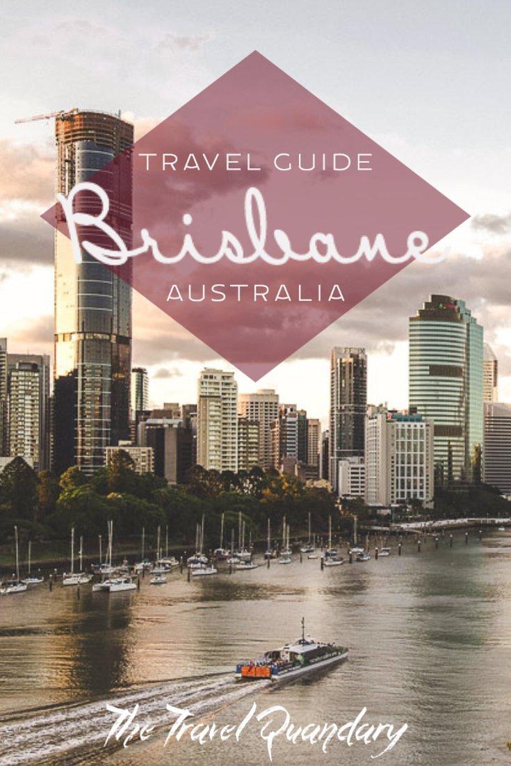 Pin Photo: Queensland's Capital City, Brisbane Australia