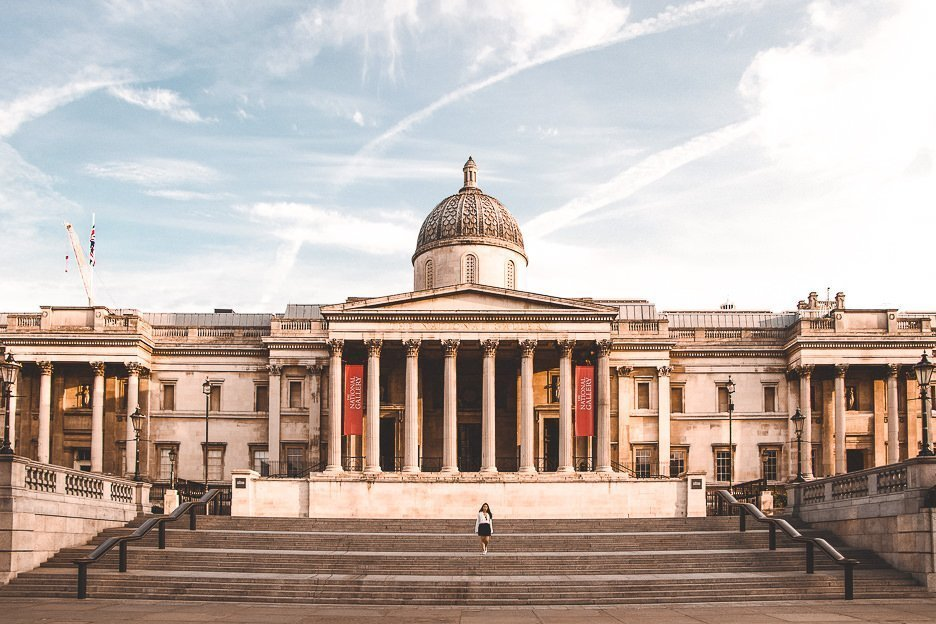 National Gallery in London | Best London Instagram Shots