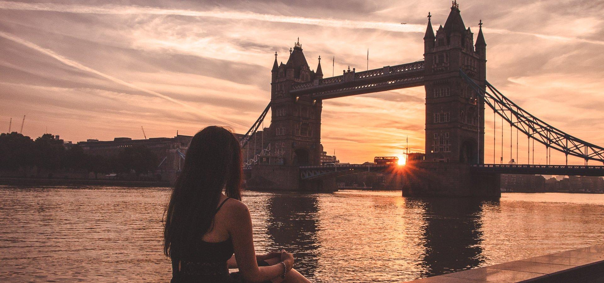 Sunrise at Tower Bridge | London Instagram Shots
