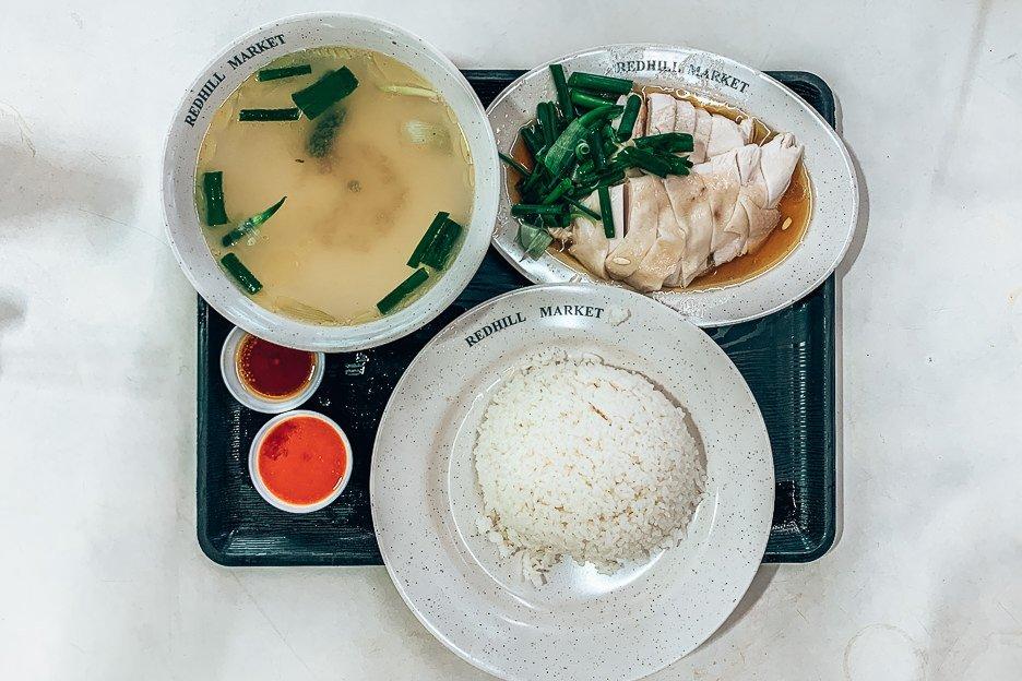 Hainanese Chicken Rice -Hua Kee Chicken Rice, Singapore