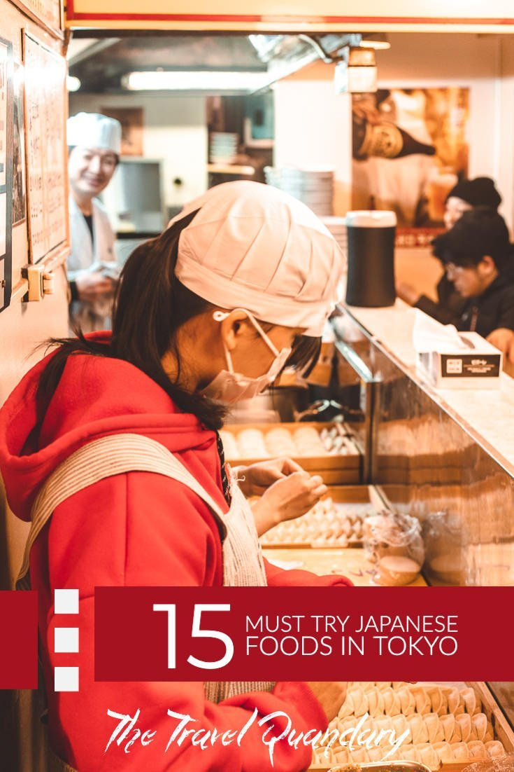 Pin and Save Photo: Must-Try Japanese Food in Tokyo