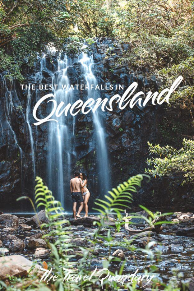 Pin Photo - Ellinjaa Falls | Best Waterfalls in Queensland
