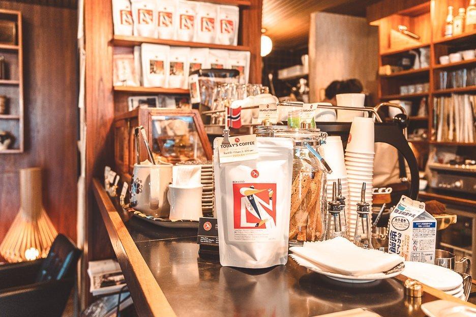 Coffee beans for sale at Fuglen Espresso Bar Shibuya | Best specialty coffee in Tokyo