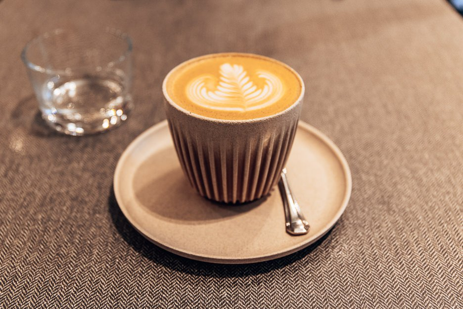 Singapore Travel Experience - flat white at Populus Coffee Co