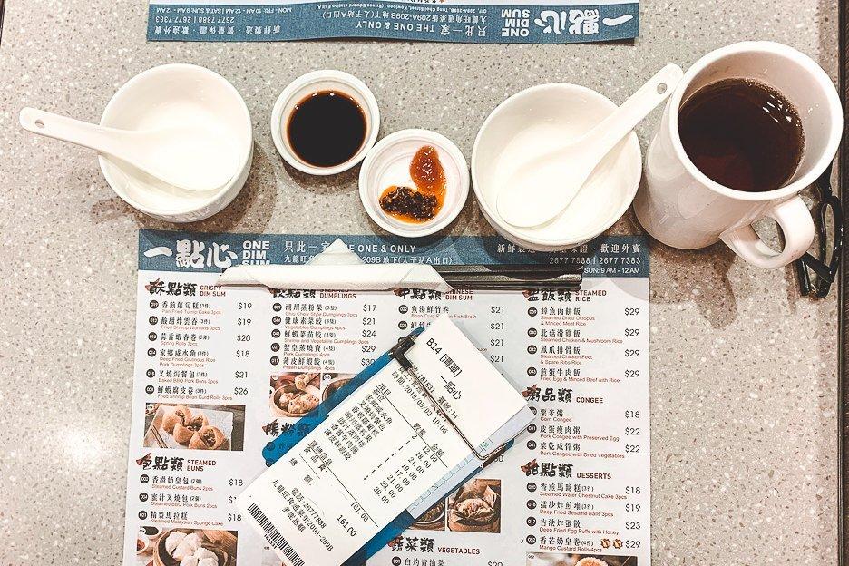 Yum Cha at One Dim Sum Restaurant - Mong Kok