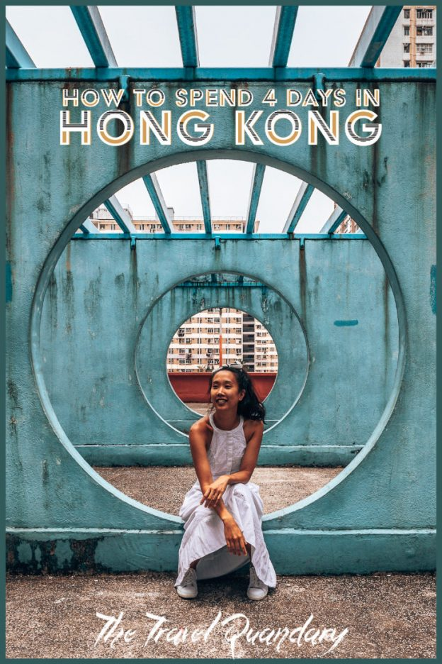 Pin to Pinterest: 4 Days in Hong Kong Travel Itinerary