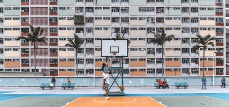 How To Spend 4 days in Hong Kong | A couple on Choi Hung Estate basketball court