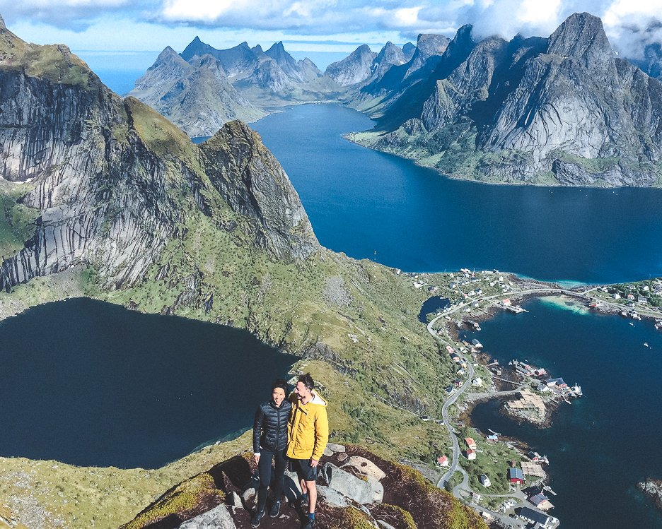 Hiking Reinebringen in Lofoten Norway: A story of overcoming mud and FOMO | hiking reinebringen 4