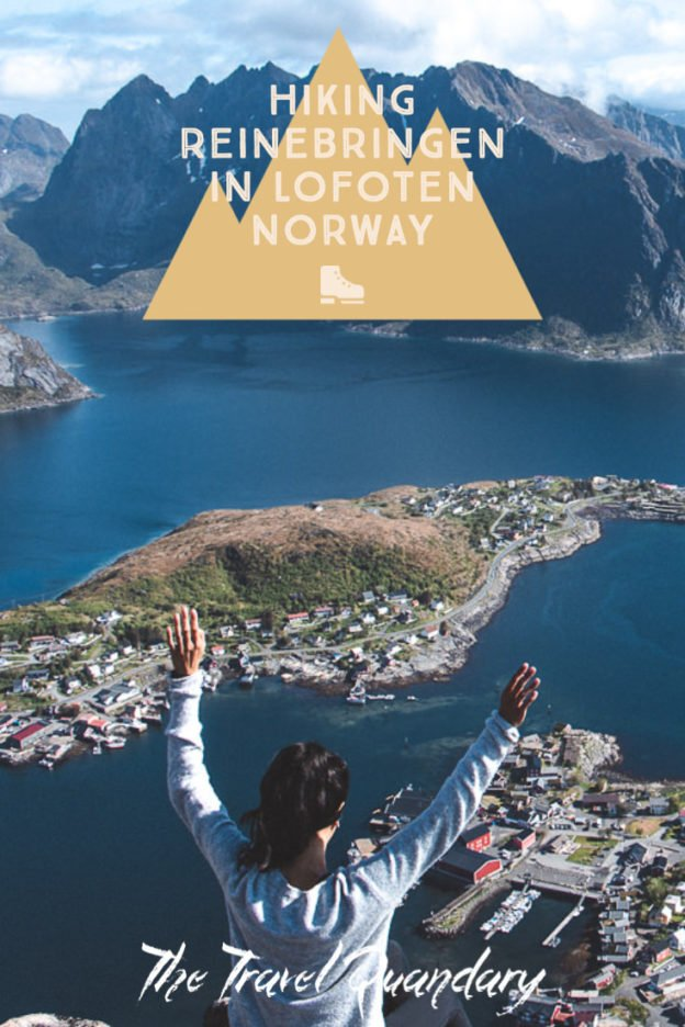 Hiking Reinebringen in Lofoten Norway: A story of overcoming mud and FOMO | hiking reinebringen 8