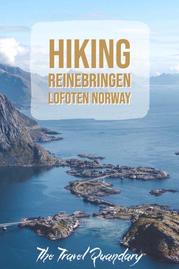 Hiking Reinebringen in Lofoten Norway: A story of overcoming mud and FOMO | hiking reinebringen 10