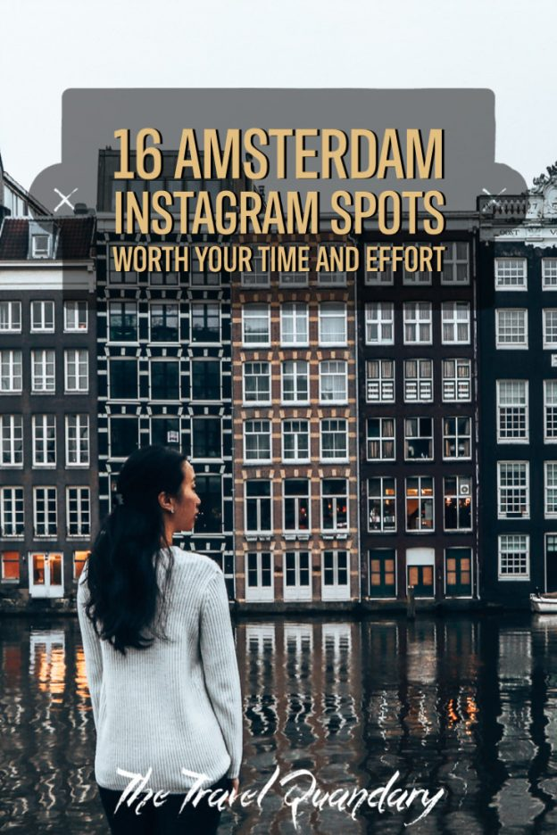 Pin to Pinterest | Amsterdam Instagram Spots