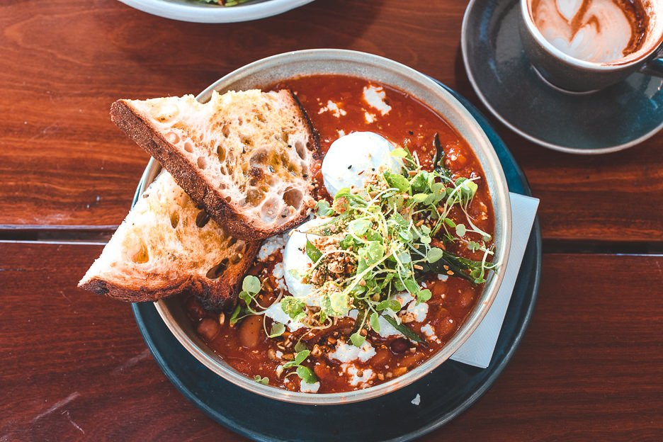 Barefoot Beans | breakfast at Barefoot Barista, Gold Coast Australia