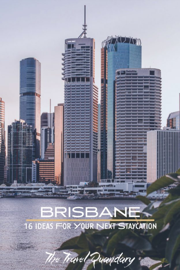 Pin Photo | Brisbane Staycation
