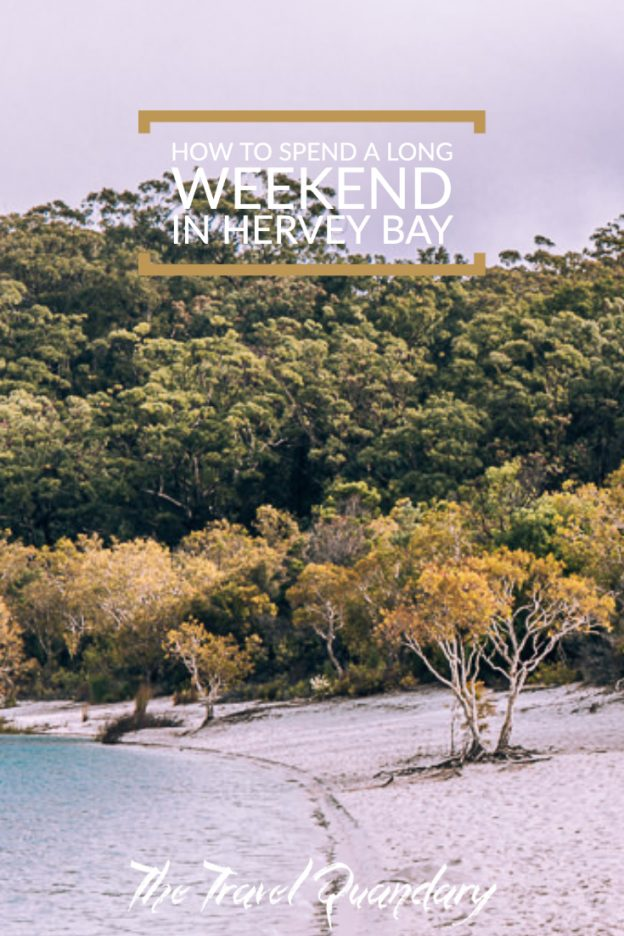 Pin to Pinterest | How to spend a long weekend in Hervey Bay