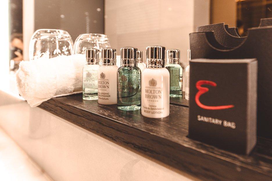 Molten Brown amenities | Emporium Hotel South Bank