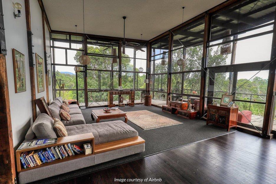 Treehouse Chalet, Currumbin Valley | airbnb Gold Coast Hinterland