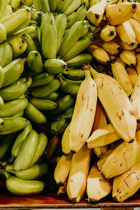 tropical bananas at Rustys Market, Cairns