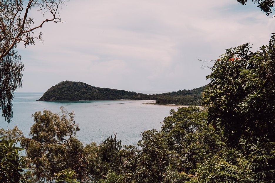 Looking out at the coastline of Cape Tribulation - must see on your Far North Queensland itinerary